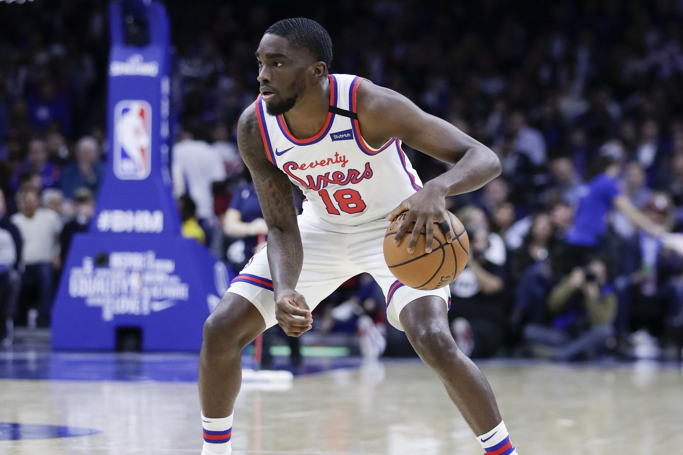 Sixers' Shake Milton taking advantage of his opportunity | Off the Dribble