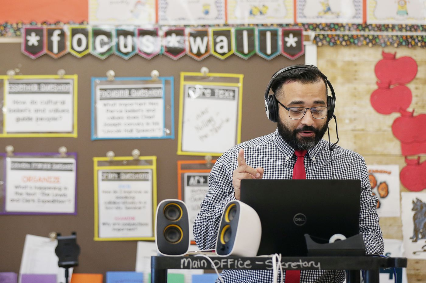 New Jersey's Teacher of the Year was born to teach, after a stint in a rock band