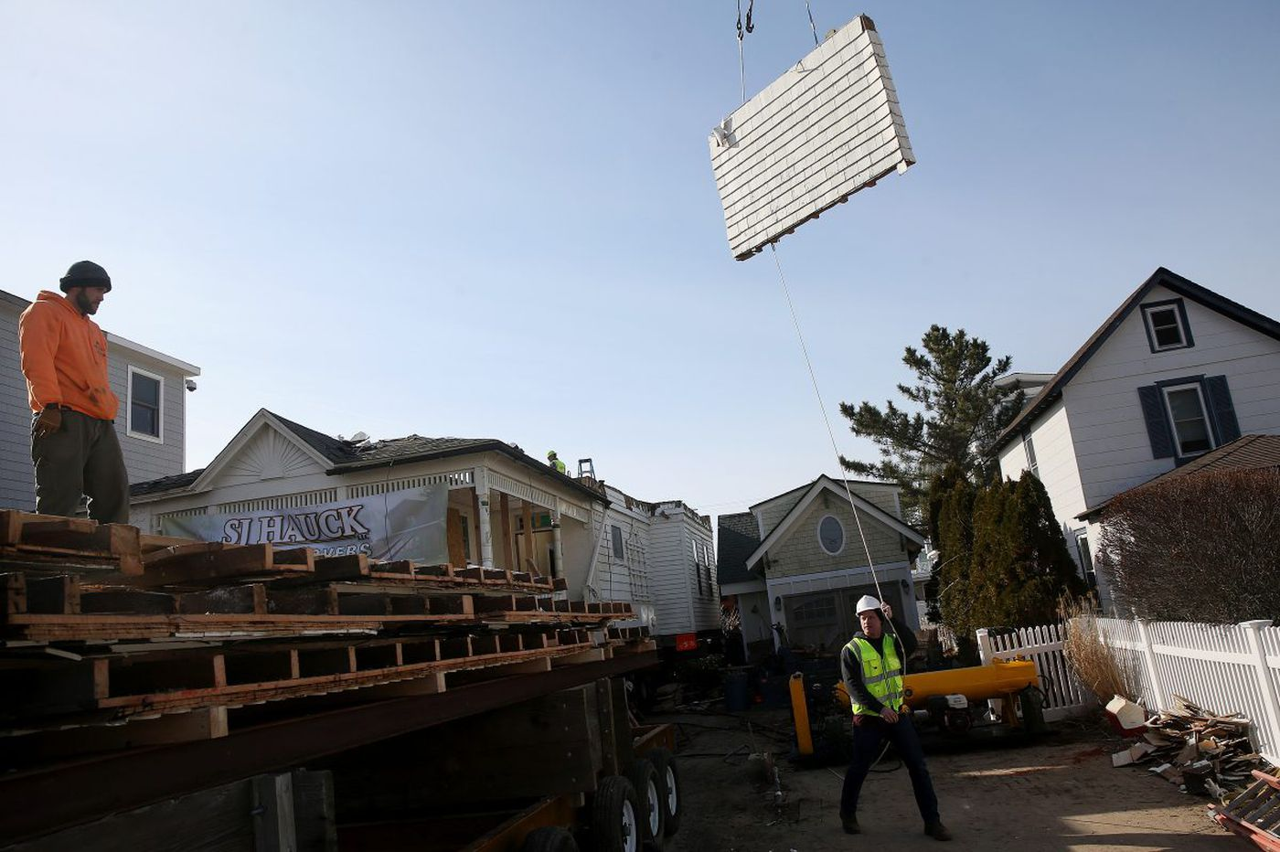 Spared from demolition, one of Avalon's oldest homes is on the move
