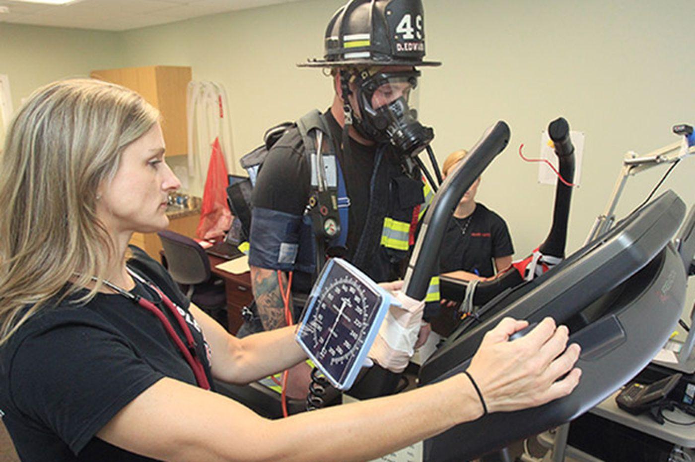 Ursinus professor aiming to keep firefighters' hearts safe