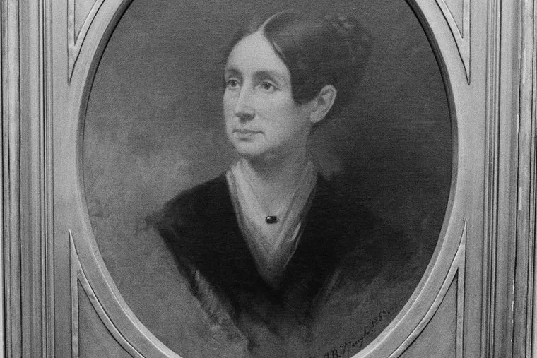 This photo shows Dorothy Dix's portrait hanging above her desk, at St. Elizabeth Hospital, Oct. 21, 1982, Washington, D.C. In 1855, Dix, who believed that the mentally ill could be returned to normal health, persuaded a farmer to sell the land which now constitutes the Dorothea Dix Hospital. Today, the hospital admits over 3,000 patients a year.