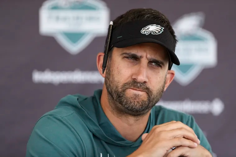 Eagles coach Nick Sirianni has kept practice times under control in camp.