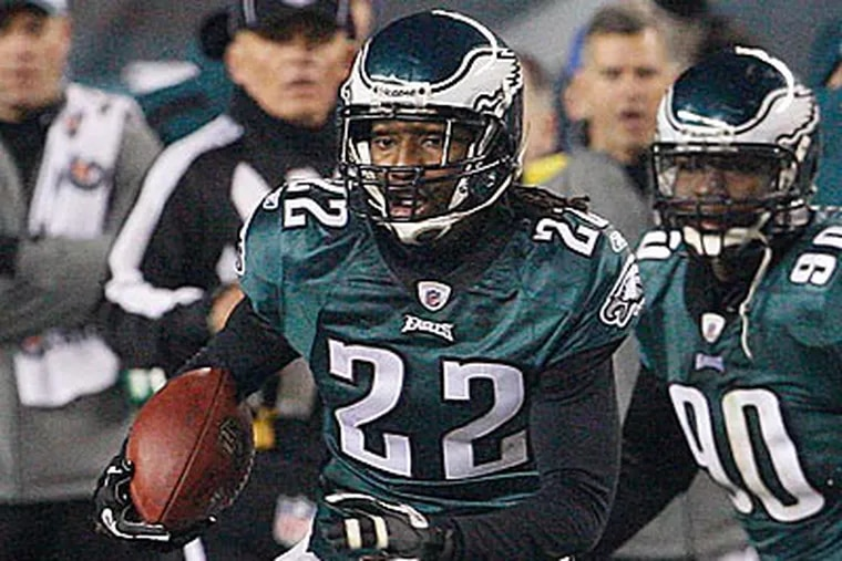 Asante Samuel insists he'll be ready to go on Sunday in Dallas. (Ron Cortes / Staff Photographer)