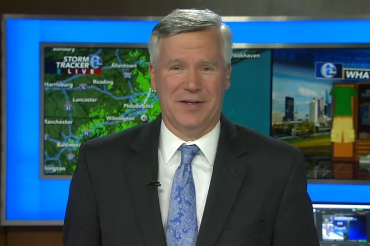 Longtime 6ABC meteorologist and reporter David Murphy announced his retirement from the station on Wednesday.