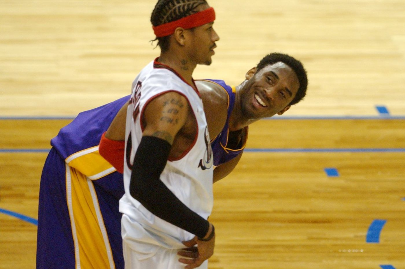 Sixers great Allen Iverson 'devastated and heartbroken' following Kobe Bryant's death
