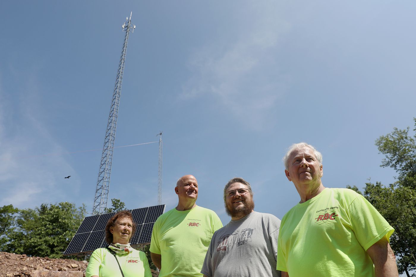 Internet speeds were awful, so these rural Pennsylvanians put up their own wireless tower