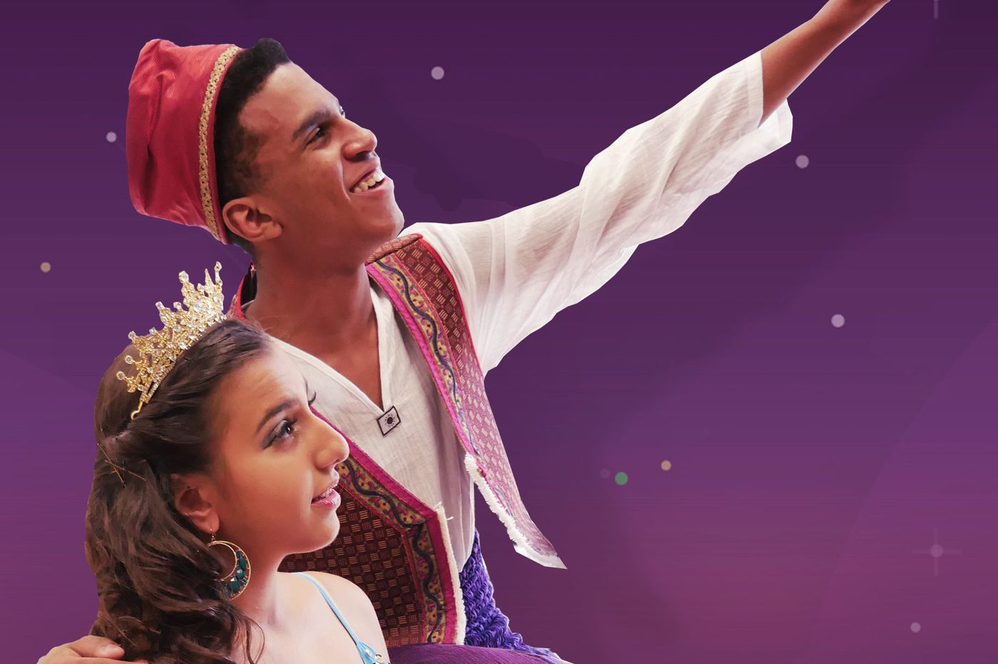 Two Philly high school kids lead a new production of 'Aladdin' (even though the movie came out a decade before they were born)