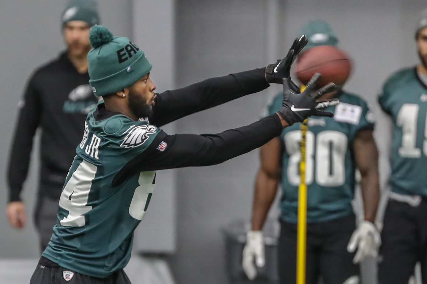 Meet Keith Williams, who helped turn Greg Ward from a practice-squad afterthought into a season-saver for the Eagles