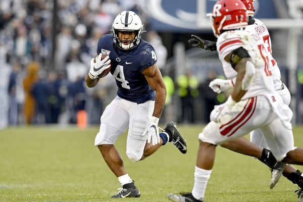 Inspired by loss, Journey Brown has career day on the ground for Penn State