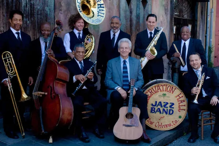 """Preservation Hall Jazz Band performs """"A Creole Christmas"""" tonight at the Zellerbach Theatre."""