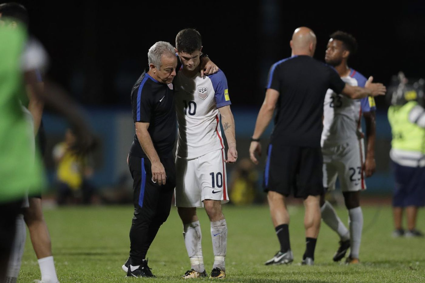 U.S. men's soccer team fails to qualify for 2018 World Cup after 2-1 loss at Trinidad & Tobago