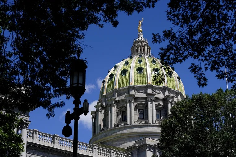 The Pennsylvania State Capitol in Harrisburg, Pa., pictured in June.