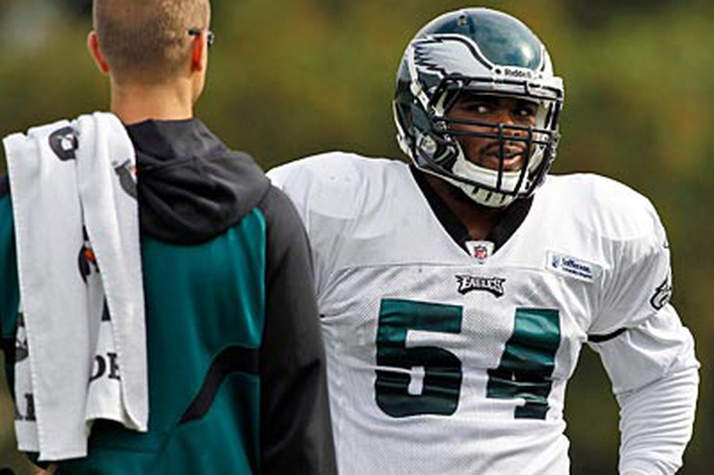 Eagles Notebook: Graham wants a crack at Eagles lineup