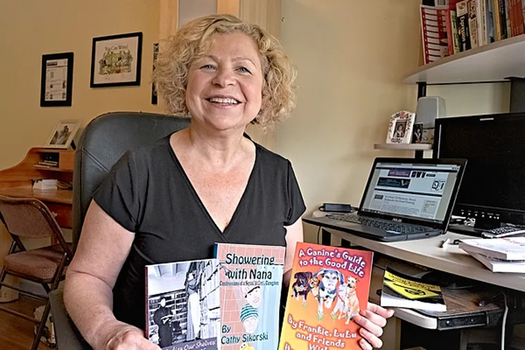 Donna Cavanaugh, humorist, writer and creator of the website Humor Outcasts where humor writers can write and thrive without fear of being censored. (ED HILLE / Staff Photographer )