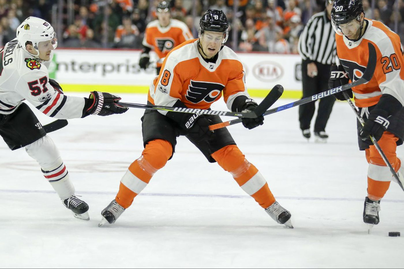 Five observations from Flyers' win, including young D's growth