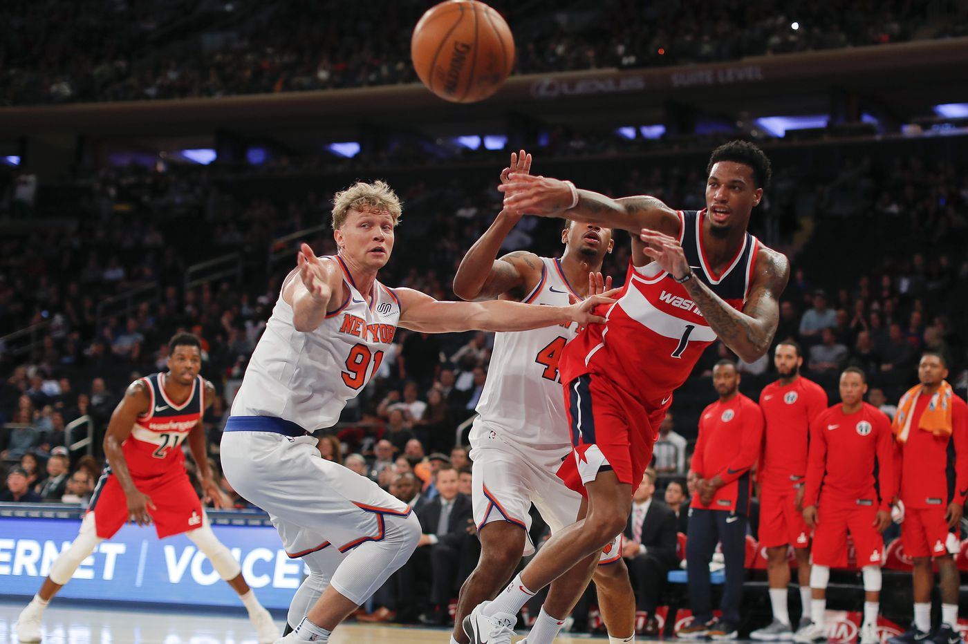 Sixers add former Wizard Chris McCullough to play in summer league
