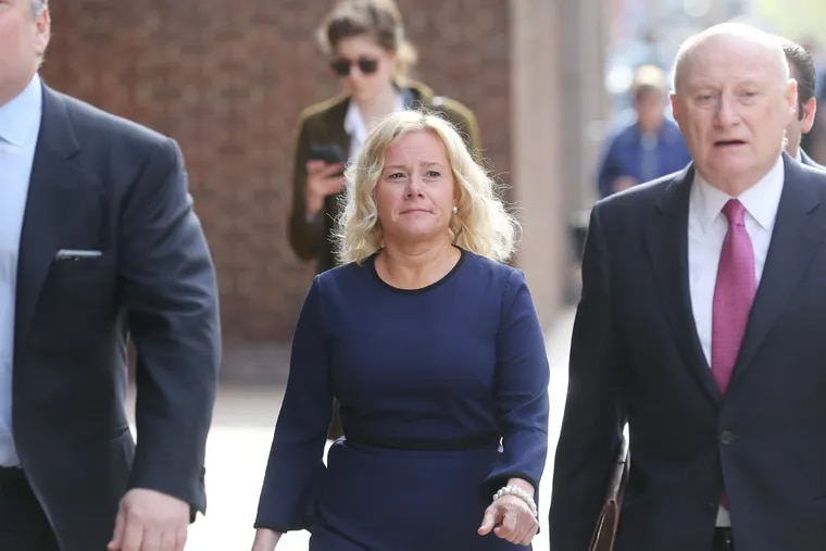Bridget Anne Kelly, a onetime aide to former New Jersey Gov. Chris Christie, pictured in April. Kelly and another onetime Christie ally, Bill Baroni, were convicted in the Bridgegate scandal and appealed their case to an appellate panel in Philadelphia. The court affirmed some of the convictions but tossed others.