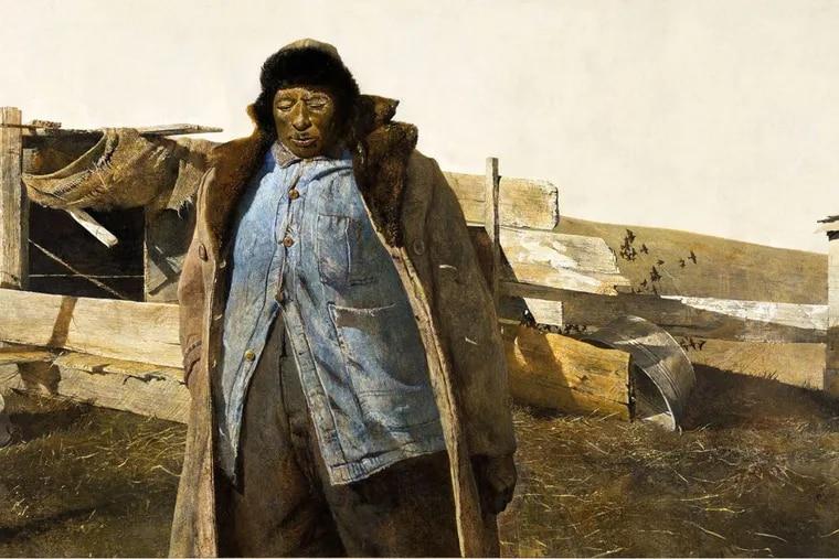 Adam, 1963, by Andrew Wyeth
