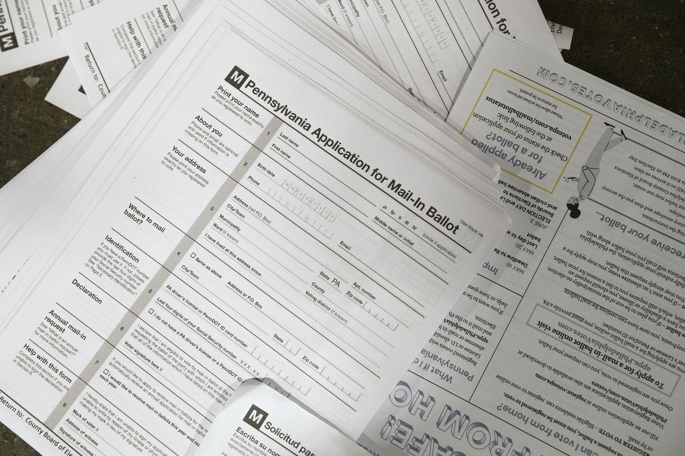 Older Voters And Registered Democrats In Pennsylvania Are Requesting Mail Ballots At Higher Rates For Tuesday Primary
