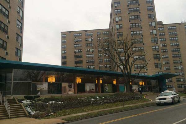 Real estate firm at work renovating East Falls apartment towers