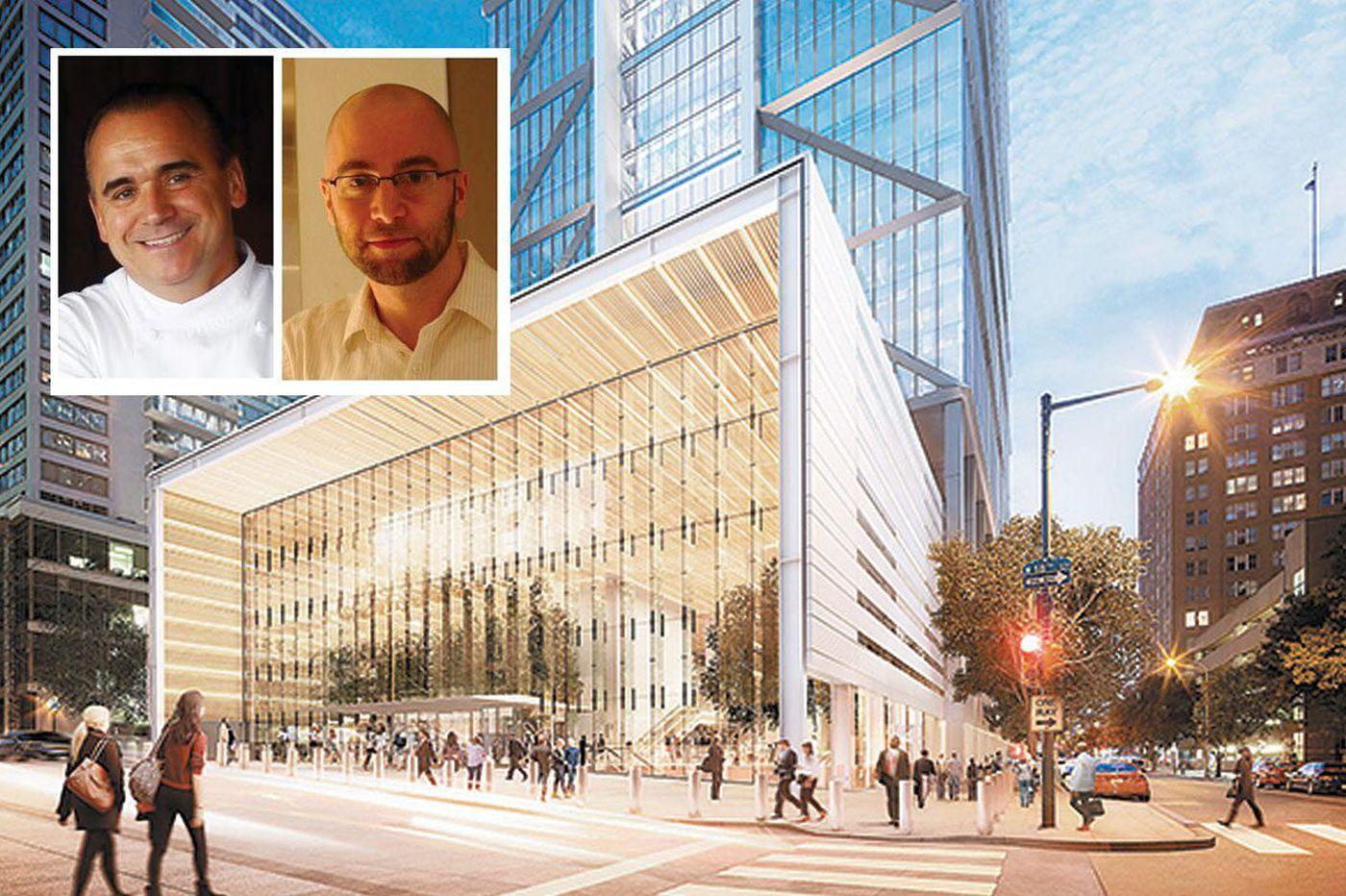 Chefs Vernick and Vongerichten to open restaurants at new Comcast tower