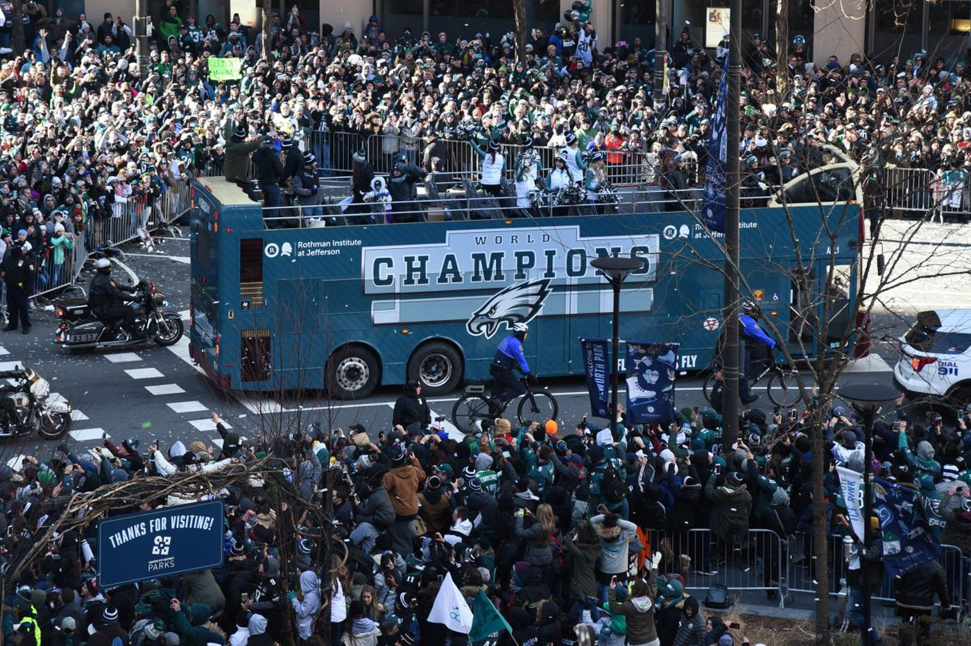 Eagles Super Bowl parade cost $2.27 million, with team and state chipping in