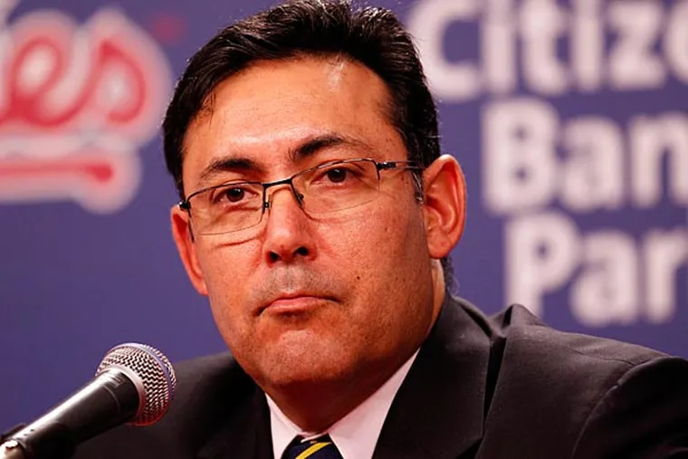 Ruben Amaro Jr. Tuesday updated the condition of all three players who missed significant time during the team's 81-81 season. (Yong Kim/Staff Photographer)