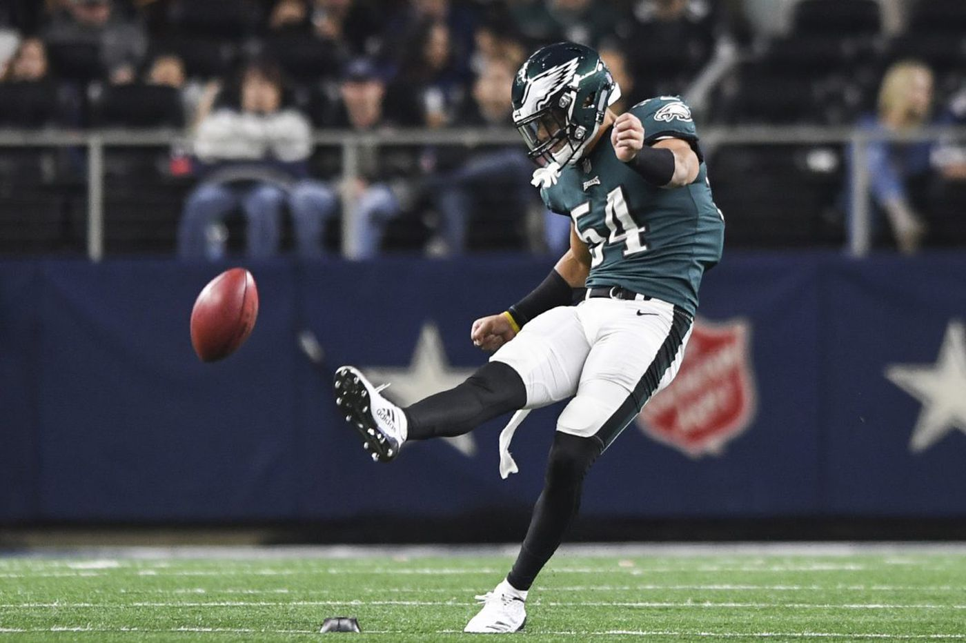 Chris Maragos got kick out of seeing Kamu Grugier-Hill try his former emergency role
