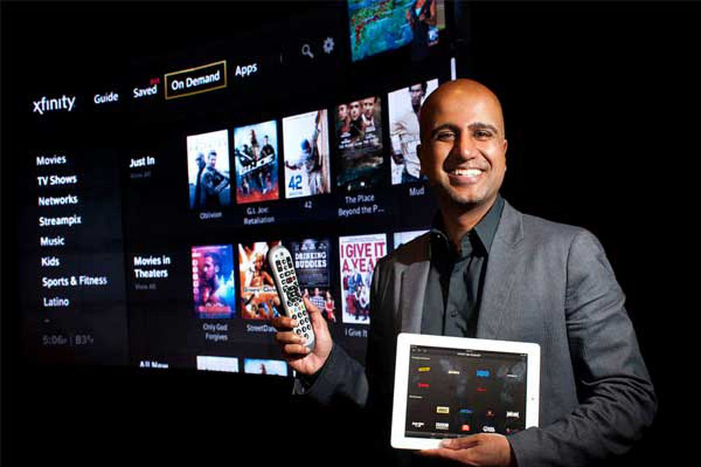 Jeff Gelles: Comcast offers its own TV-management package