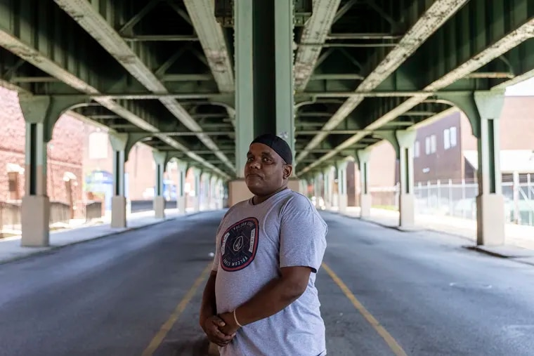 """Marvin Vereen, 51, of North Philadelphia, has been in a three year recovery from heroin. """"I learned to deal with being stressed out, with different emotions, people, and dealing with me,"""" Vereen said."""