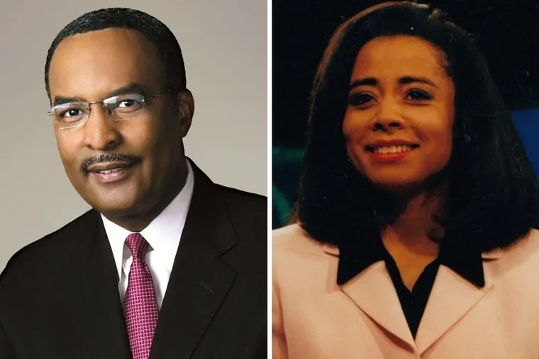 Racist comments made by CBS executive about CBS3 anchor Ukee Washington, left, were highlighted in a recent report from the Los Angeles Times. Former Philly news anchor Renee Chenault Fattah recalls her experience of discrimination in the broadcast news industry.