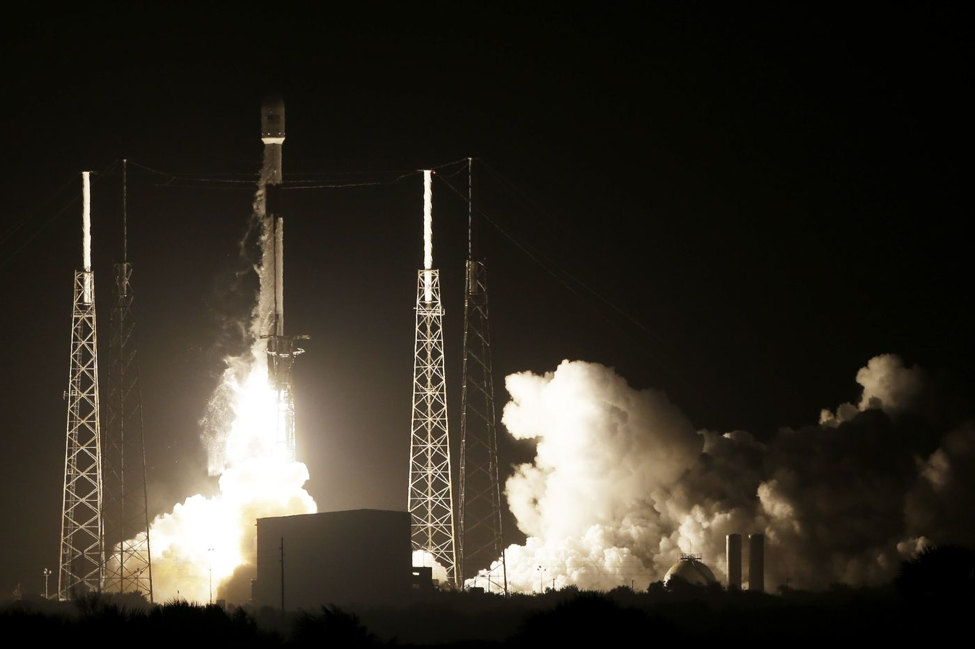 Israel flying to moon 'Uber-style' after SpaceX launch