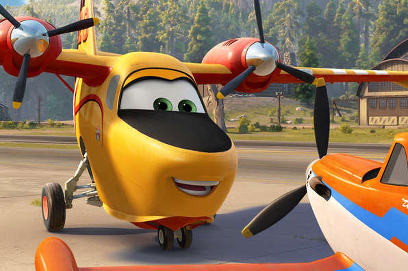'Planes: Fire & Rescue': Dusty's back, battling blazes