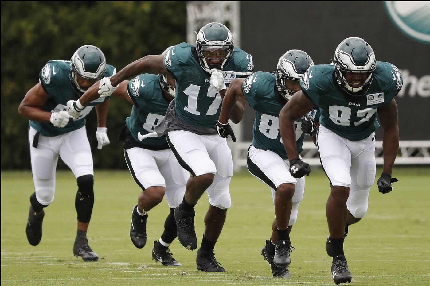 Jeffery and Smith are sharpening the Eagles' corners