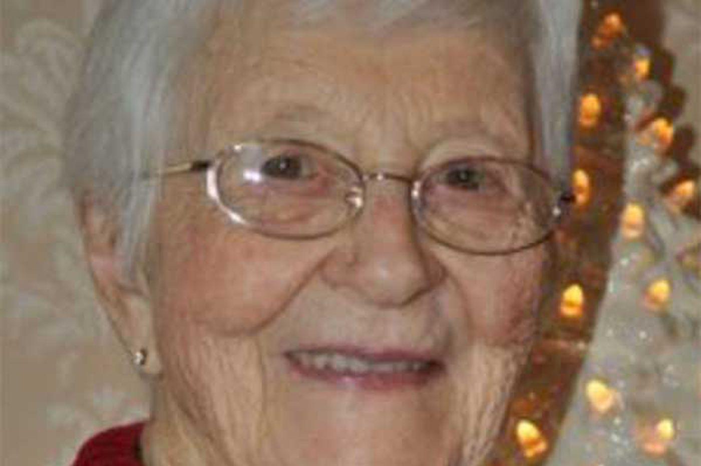 Dorothy Shockey, 95, Lutheran leader