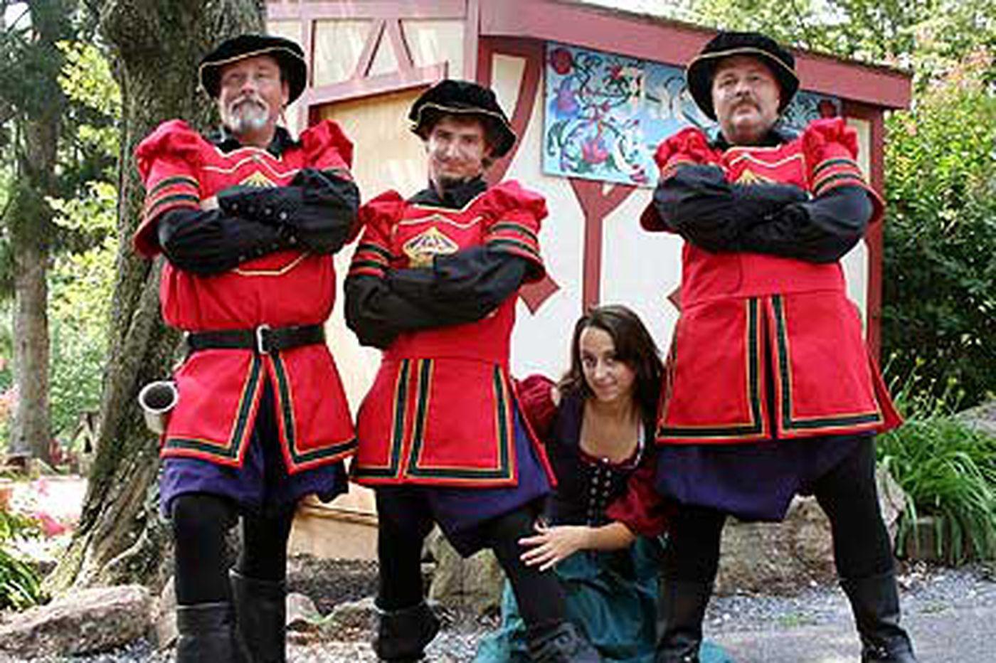 Weekend Planner: Manly Medieval men, more