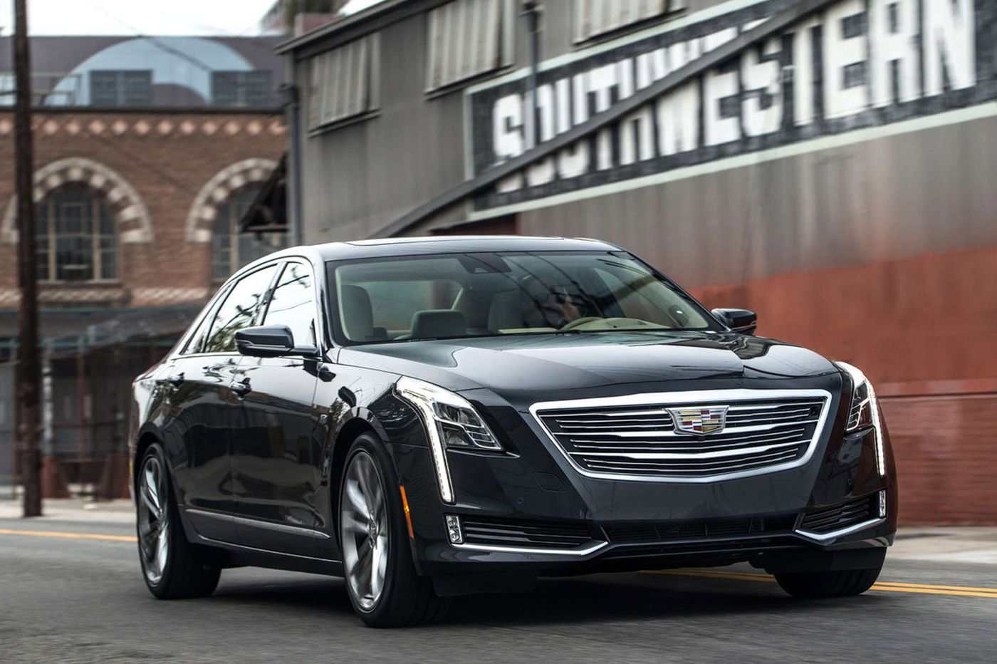New CT6 is light, luxurious