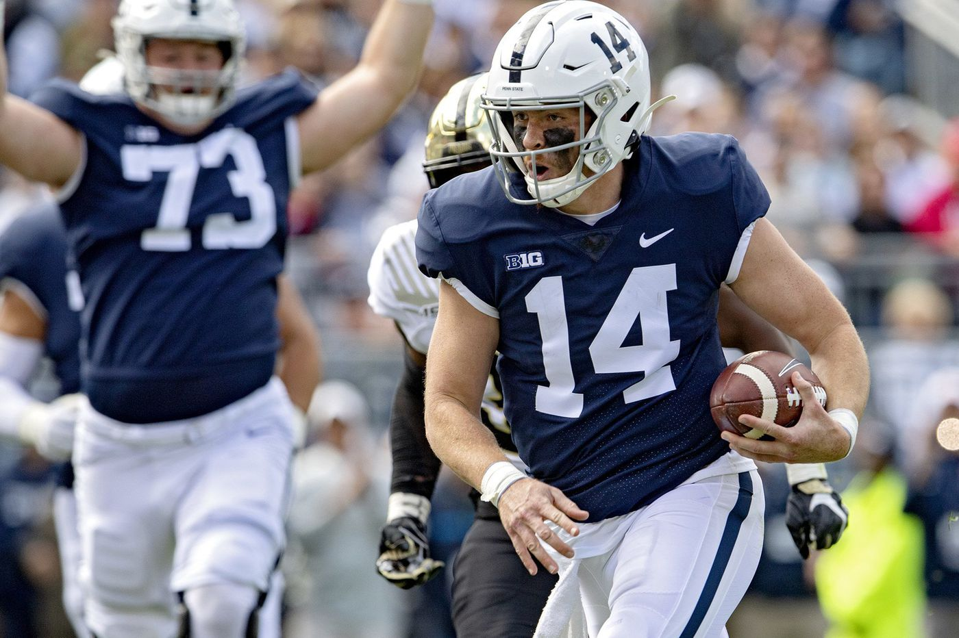 Penn State saw early success with two tight ends in win over Purdue