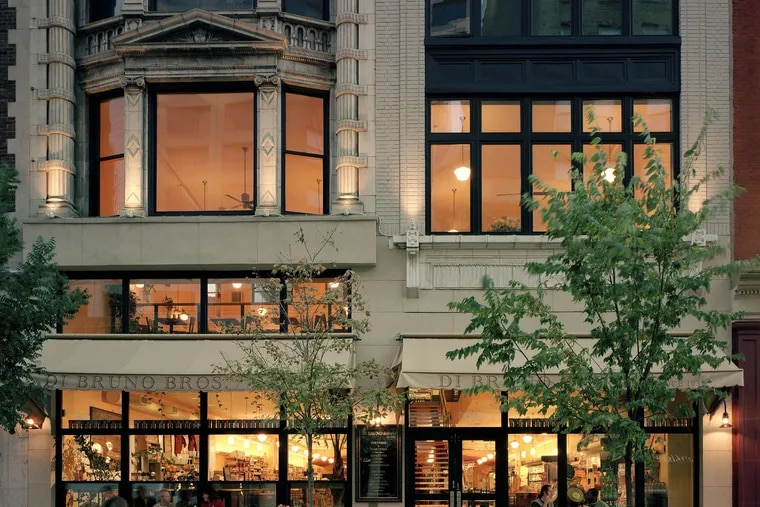 The Rittenhouse location of Di Bruno Bros., whose second floor will become a cafe and bar called Alimentari.