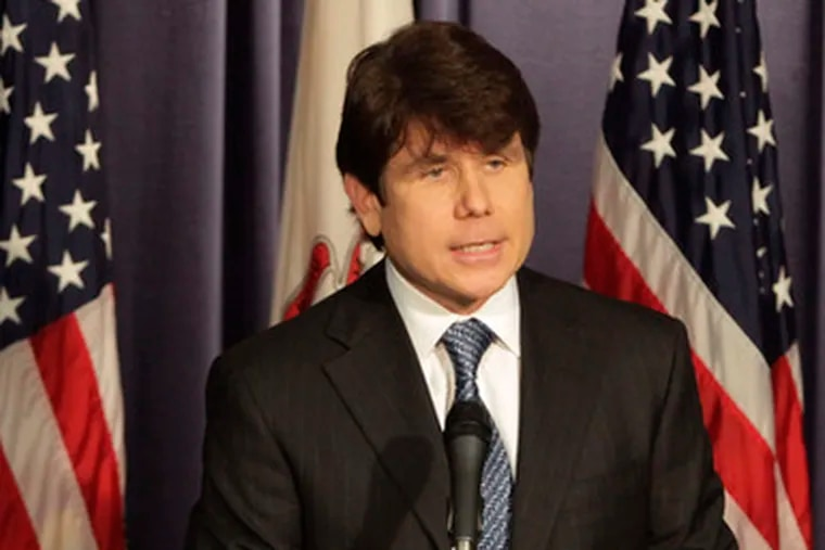 Illinois Gov. Rod R. Blagojevich says heis not guilty of any criminal wrongdoing.