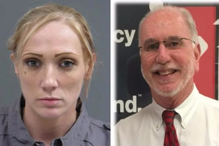 Jennifer Morrissey is charged with killing Michael McNew last summer in Bucks County.