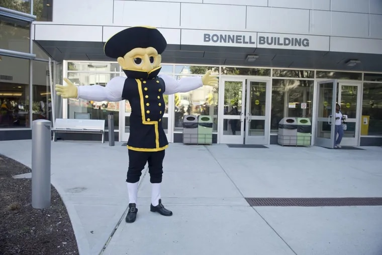 Colonial Phil, the mascot for Community College of Philadelphia, will be replaced in the fall 2018 semester.