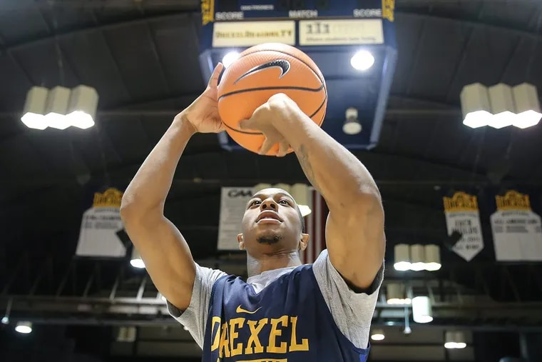 Drexel sophomore guard Kurk Lee has a large support system.