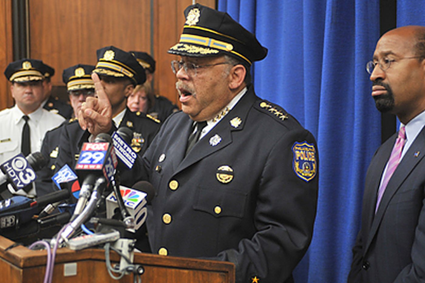 Four Phila. officers fired for taped beating