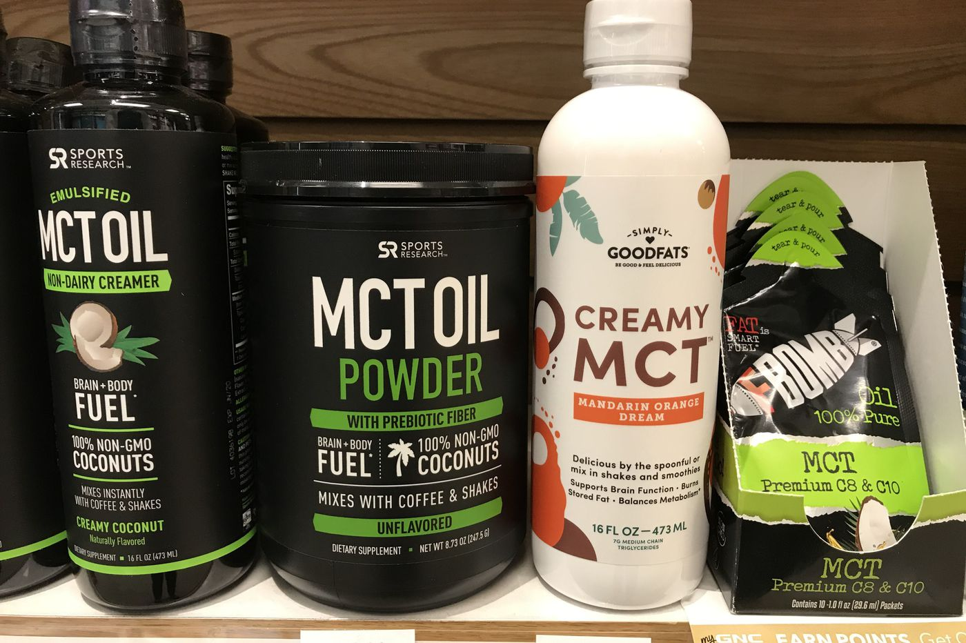 mct oil on carb diet