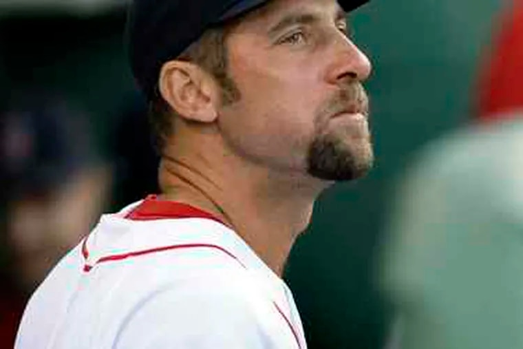 John Smoltz hasn't pitched in the major leagues in over a year.