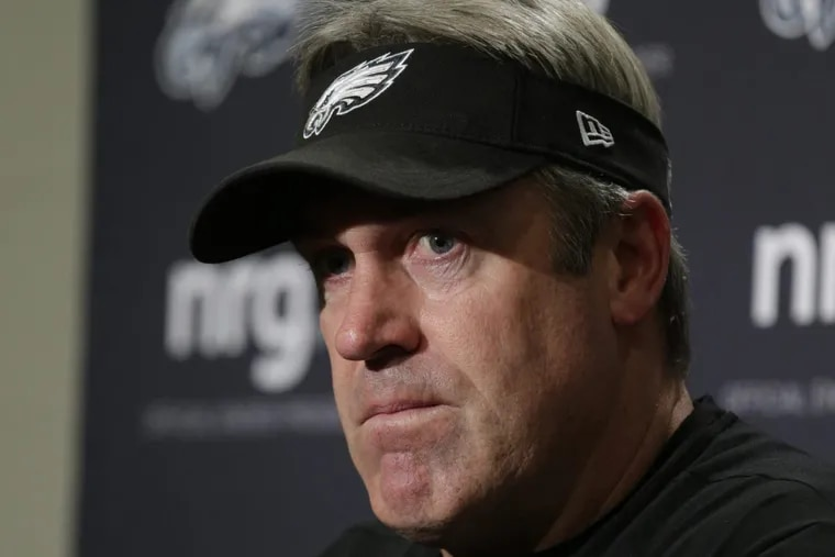 Doug Pederson will hold his weekly day-after-game press conference.