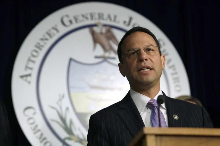 File photo of Pennsylvania Attorney General Josh Shapiro.