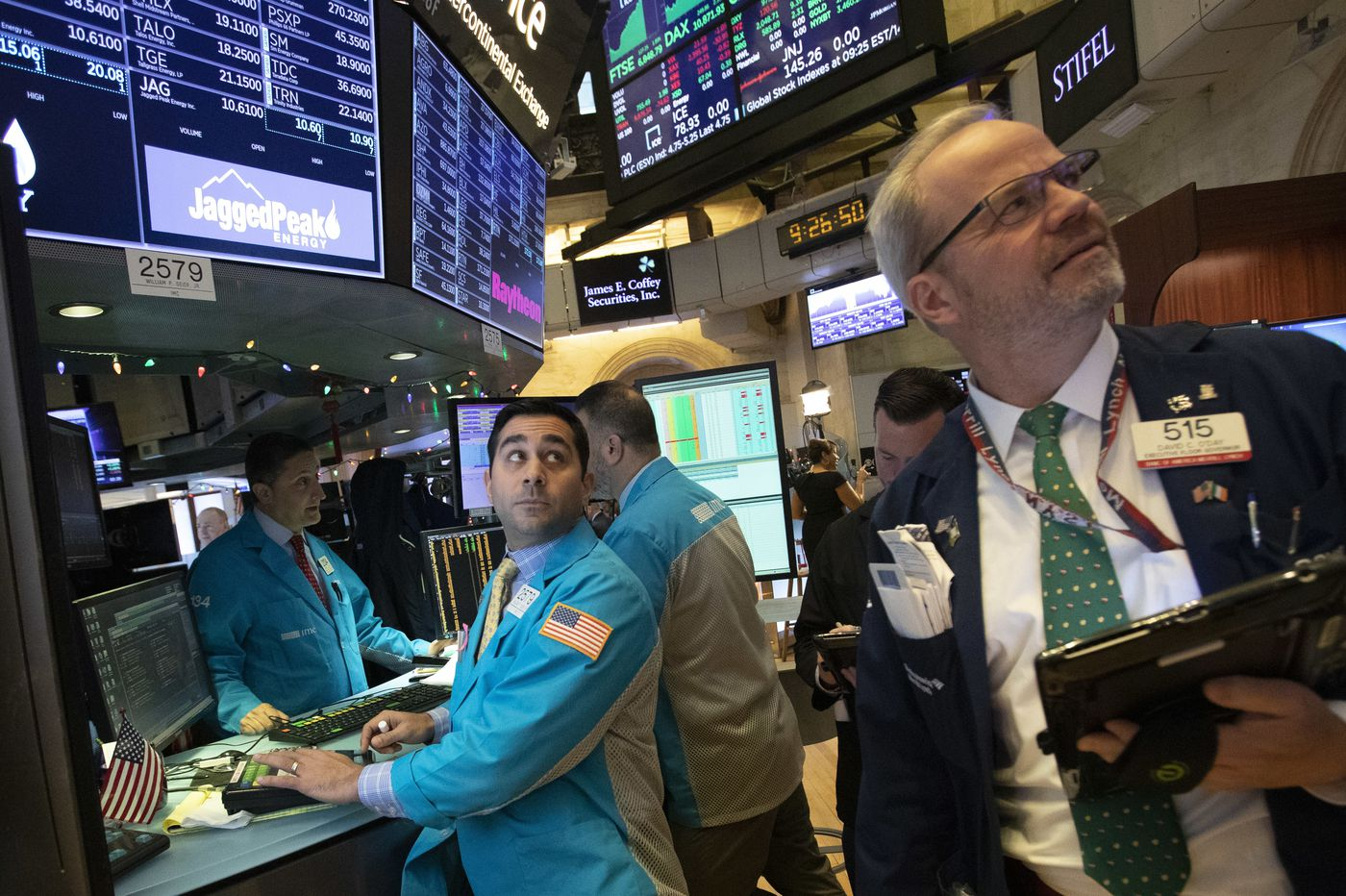 Up, down, back again: US stocks go on another dizzying ride