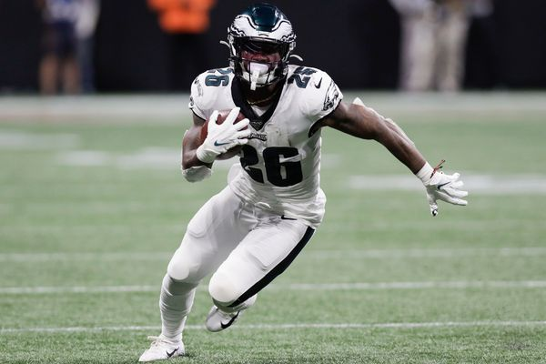 Saquon Barkley: Eagles rookie running back Miles Sanders is just getting started